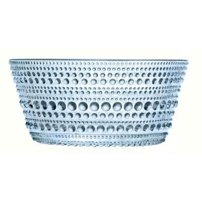 Kastehelmi skål ljusblå