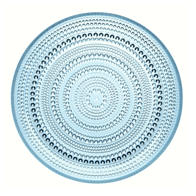 Kastehelmi tallrik 24,8 cm ljusblå