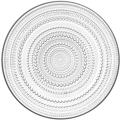 Kastehelmi tallrik 31,5 cm, klar