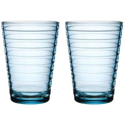 Aino Aalto glas ljusblå 33 cl 2-pack
