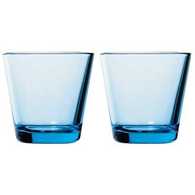 Kartio drickglas ljusblå 2-pack