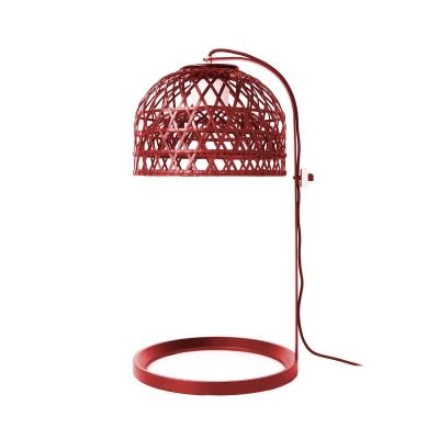 Emperor bordslampa, röd