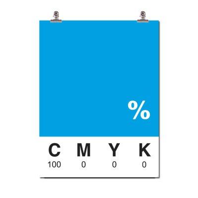 Cyan poster