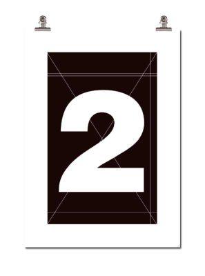 Bild av Number Two poster