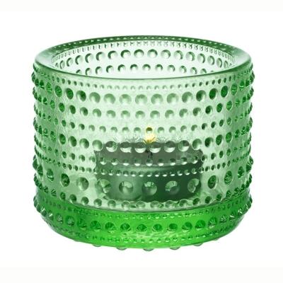 Kastehelmi ljuslykta äppelgrön