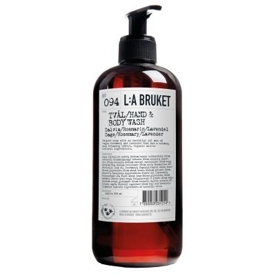 Flytande tvål 450 ml salvia/rosmarin/lavendel