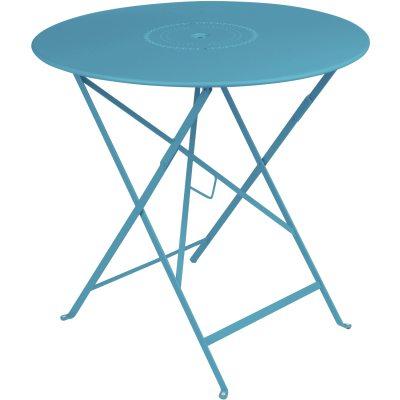 Floréal bord Ø77 turquoise