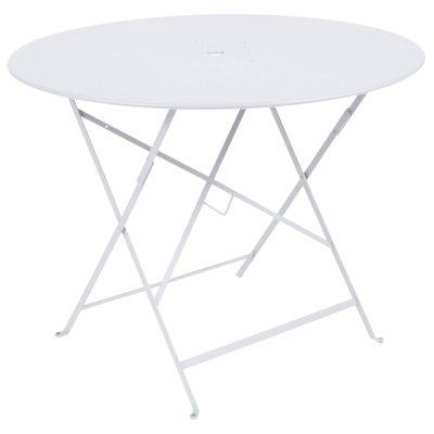 Floréal bord ø96 cotton white