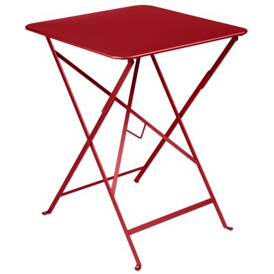 Bistro bord 57×57 poppy red