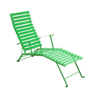 Bistro Chaise Longue grass green