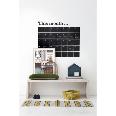 Kalender wallsticker