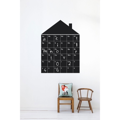 Abc House wallsticker