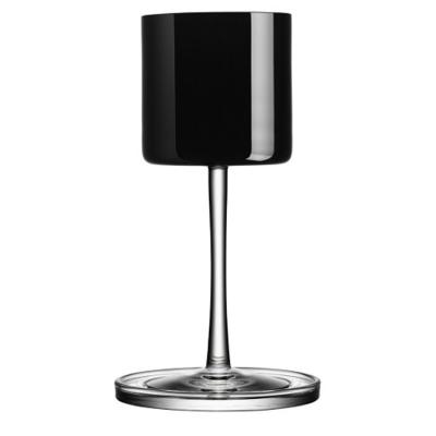 Karl Lagerfeld vitvinsglas svart