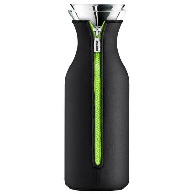 Kylskåpskaraff 1 l svart/grön