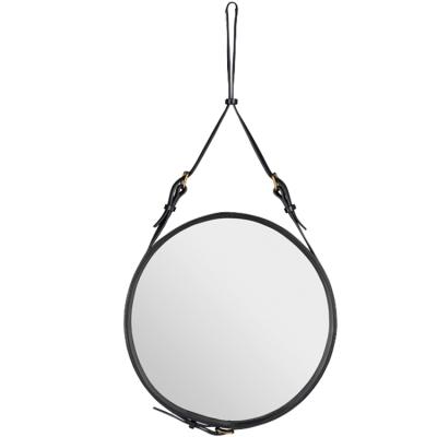 Adnet spegel ø58 cm svart
