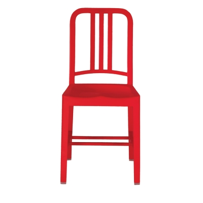 111 Navy Chair red