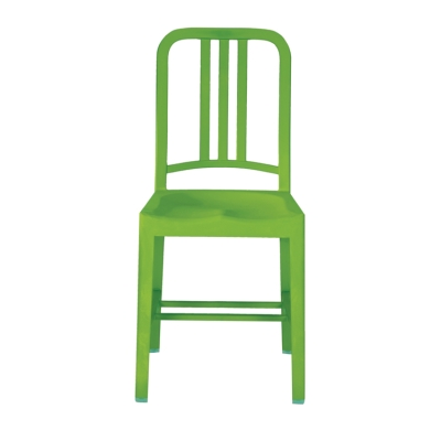 111 Navy Chair grass green