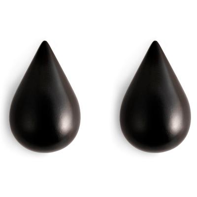 Drop-It väggkrok L svart