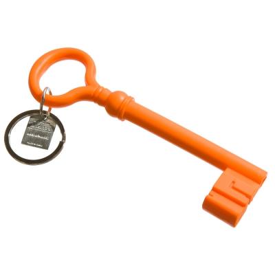 Silicone nyckelring orange