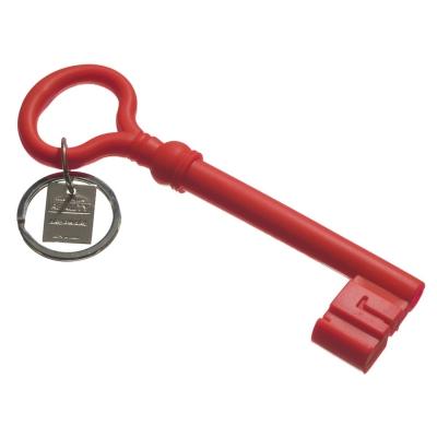 Silicone nyckelring röd