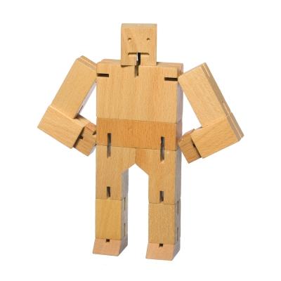 Cubebot träfigur S