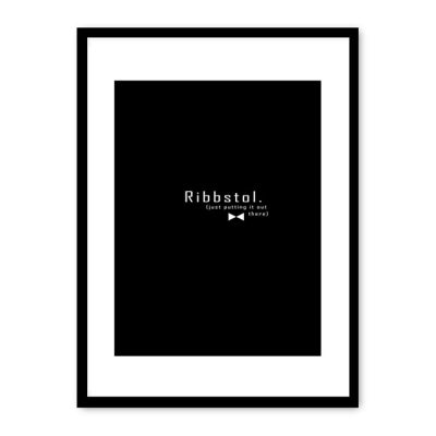 Ribbstol poster
