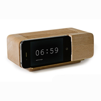 Alarm Dock trä