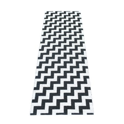 Gunnel matta svart 70×200