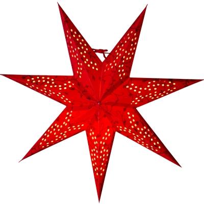 Beatrix 44 julstjärna röd