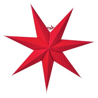 Aino Slim 60 julstjärna röd