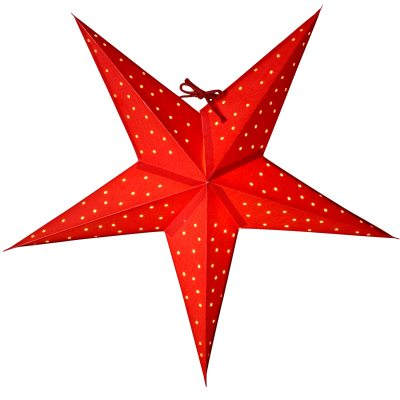 Stella 52 julstjärna röd