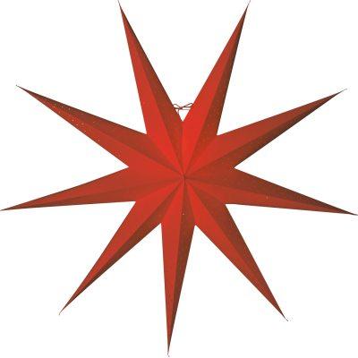 Stella Slim 118 julstjärna röd