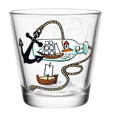 Mumin dricksglas Mumintrollet metar
