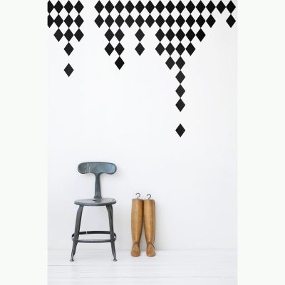 Harlequin wallsticker
