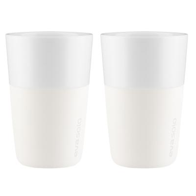 Caff Latte mugg 2-pack, benvit
