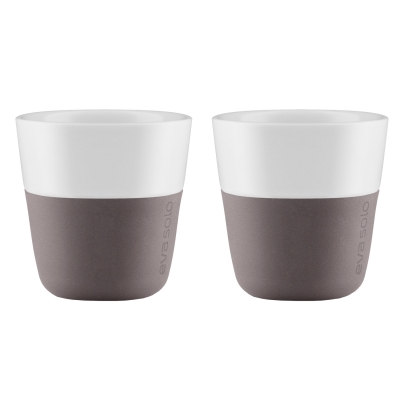 Espressomugg 2-pack grå