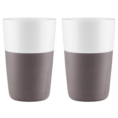 Caffé Latte mugg 2-pack grå