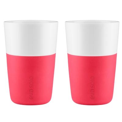 Caffé Latte mugg 2-pack rosa