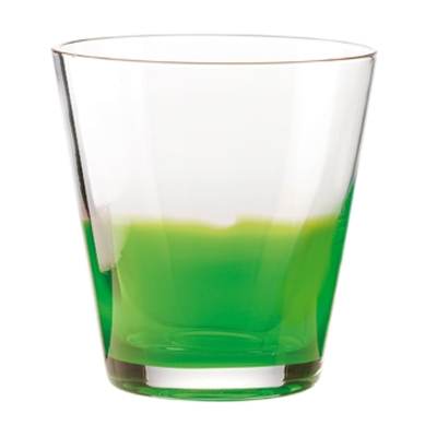 Two-Tone dricksglas, grön