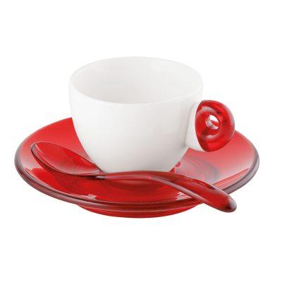 Espressoset 2-pack röd