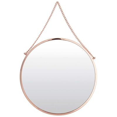 Bolina spegel rund koppar