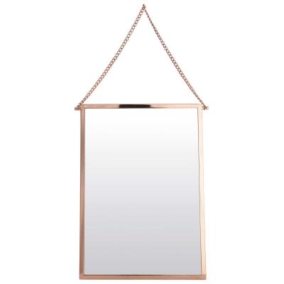 Bolina spegel rektangulär koppar
