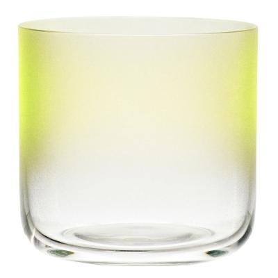 Colour dricksglas lågt gul