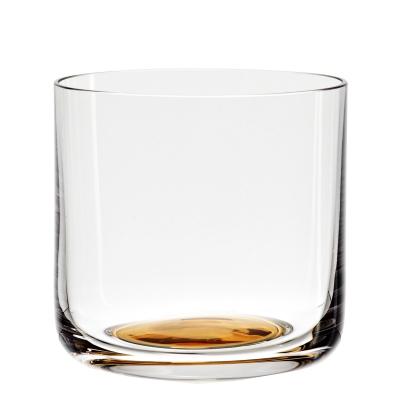 Colour dricksglas lågt guld