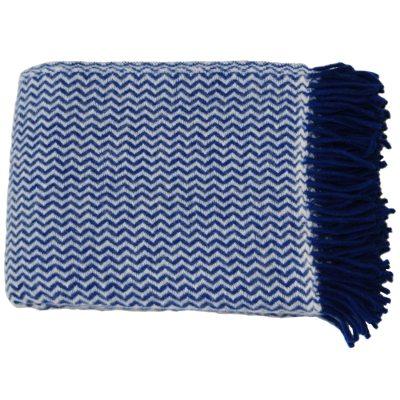 Bild av Tango ullpläd, blå