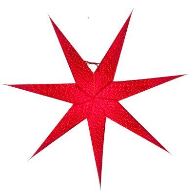 Aino slim 80 julstjärna röd