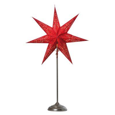 Beatrix Nord julstjärna på fot röd