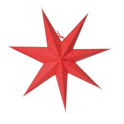 Stella Slim 60 julstjärna röd