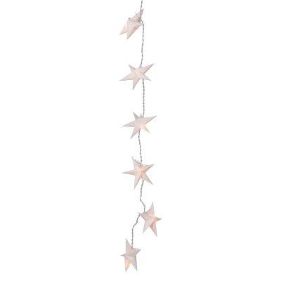 Mini Stella ljusslinga, vit