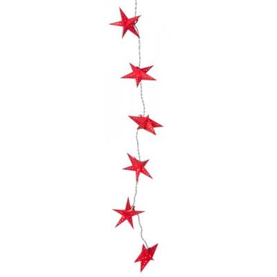 Mini Stella ljusslinga röd